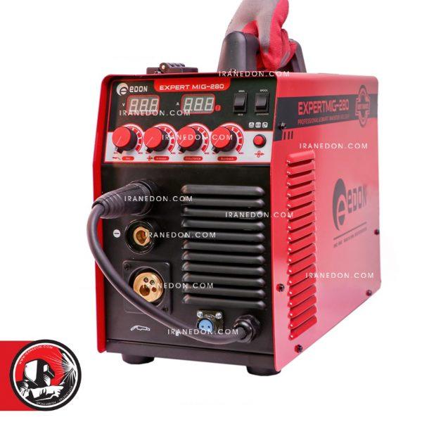 دستگاه جوش اینورتر co2 تکفاز 280 امپر ادون