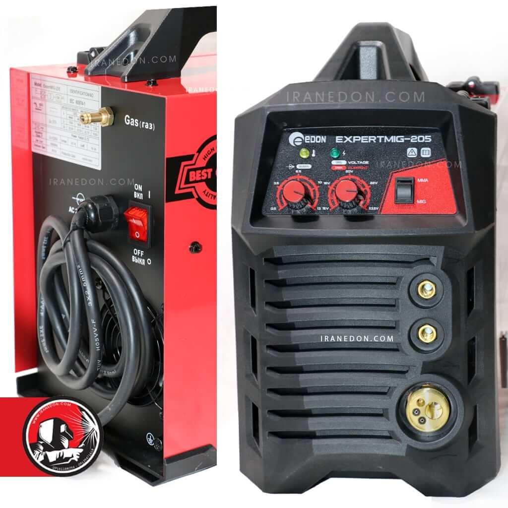 دستگاه جوش 205 آمپر co2 مدل mig-205